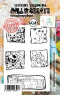 No. 260 Squares Aall and Create Stamp Set (A7) - AAL00260
