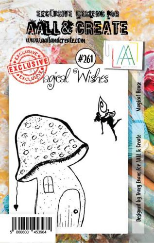 No. 261 Magical House Aall and Create Stamp Set (A7) - AAL00261