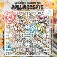 Mosaic - No. 54 Aall and Create Stencil - 6 in by 6 in (15cm by 15cm)