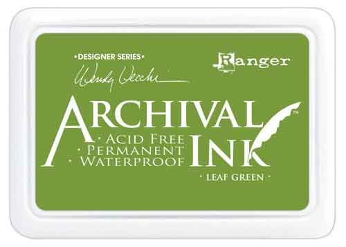 Leaf Green Wendy Vecchi Archival Ink Pad