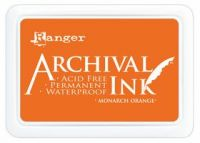 Monarch Orange Archival Pad