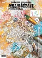 No. 85 Abundance Stencil (A4) by Olga Heldwein for Aall and Create
