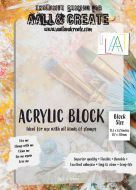 A4 Acrylic Block (Thin Flexible) by Aall and Create