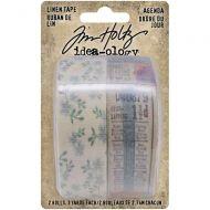 Agenda Linen Tape Tim Holtz Idea-Ology 1 inch by 3yd-2 Pk (TH94140)