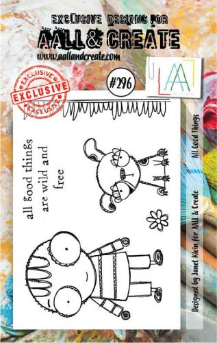 No. 296 All Good Things Aall and Create A7 Stamp