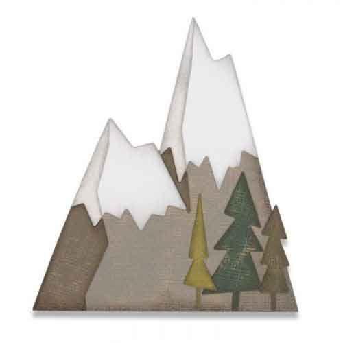 Alpine - Tim Holtz - Sizzix Thinlets Die - 664225