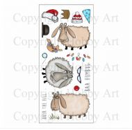 CS110D Hobby Art Stamps - Baa-Humbug