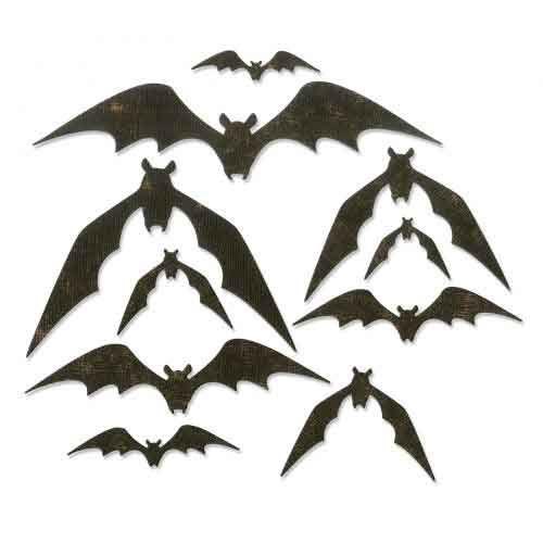 Bat Crazy - Tim Holtz - Sizzix Thinlets Die - 664203