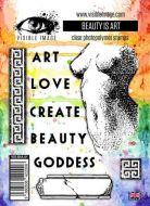 Beauty is Art stamp set by Visible Image