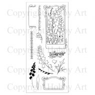Bells Hobby Art Clear Stamp Set (CS078D)