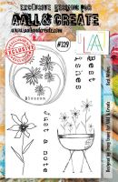 No. 329 Best Wishes Aall and Create A5 Stamp