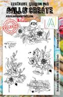 No. 324 Blooming Beauty Aall and Create A5 Stamp