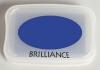 Brilliance Pigment Ink Pad - Mediterranean Blue