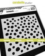 Bubbles by Alexi for Carabelle Studio (TECA60007) - Stencil Square 6 inch