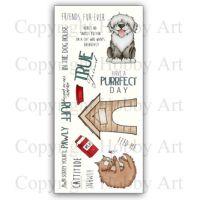 Petz Accessories Hobby Art Clear Stamp Set