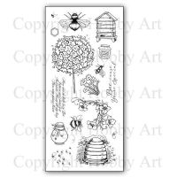 CS135D Hobby Art Stamps - Busy Bees