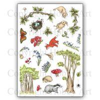 CS157D Bluebell Wood Hobby Art Stamps