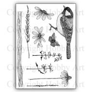 CS161D Nature Reserve Hobby Art Stamps