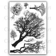 CS164D Hobby Art Stamps -  Tree