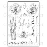 CS165D Dandelion Wishes Hobby Art Stamps