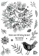 CS189D Hobby Art Stamps - Nature's Song