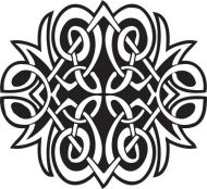 Crafty Stamps - Celtic - CT165Q