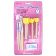 Stencil Brush Pack Crafts Too (CT21336A)