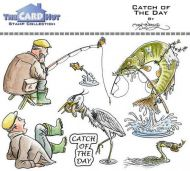 Catch Of The Day a6 clear stamp set from Card Hut