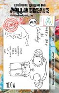 Caterday No. 477 Janet Klein Aall and Create A7 Stamp Set