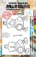 Choose Happy No. 478 Janet Klein Aall and Create A7 Stamp Set