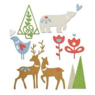 Christmas Elements - Lisa-Jones - Sizzix Thinlets Die - 663413