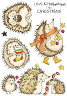 Christmas Hedgehugs (CS321D) Hobby Art Stamps