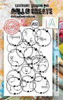 No. 352 Circled Numbers Aall and Create A7 Stamp