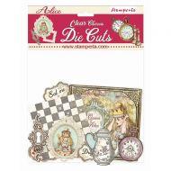 Clear Die cuts - Alice Charms by Stamperia (DFLDCP18)