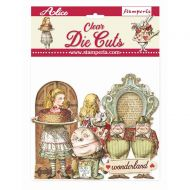 Clear Die cuts - Alice through the looking glass by Stamperia (DFLDCP11)