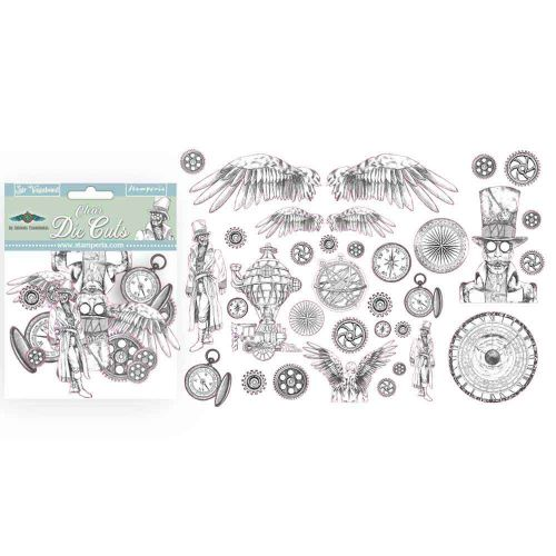 Clear Die cuts Sir Vagabond Stamperia (DFLDCP01)