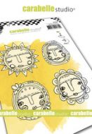 Cling Stamp A6 : Art Dolls by Kate Crane and Carabelle Studio (sa60498)