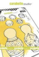 Cling Stamp A6 : Build a Baboushka by Kate Crane and Carabelle Studio (sa60499)