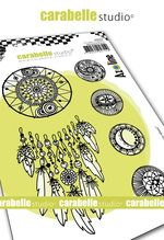 Cling Stamp A6 : Catching your dreams by Azoline and Carabelle Studio (sa60503)