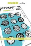 Cling Stamp A6 : Circles collage by Birgit Koopsen and Carabelle Studio (sa60505)
