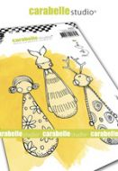 Cling Stamp A6 : Little Skittles by Kate Crane and Carabelle Studio (sa60501)