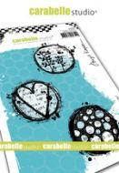 Cling Stamp A6 : Playful circles by Birgit Koopsen and Carabelle Studio (sa60506)
