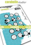 Cling Stamp A7 : Inky circles by Birgit Koopsen and Carabelle Studio (sa70170)