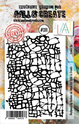 No. 311 Crack Up Aall and Create A7 Stamp