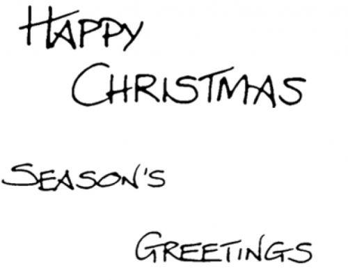 Christmas Set - XM116S (Happy Christmas, Seas Greet 2)