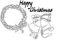 Christmas Set - XM4M (Tartan wreath, tartan bells, HC)