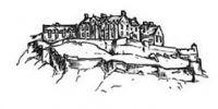 Crafty Stamps - Edinburgh Castle (m)   - SC138L