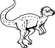 Crafty Stamps - Pacchycephalosaurus - DN106Q