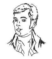 Crafty Stamps - Robbie Burns (l)   - SC125HF