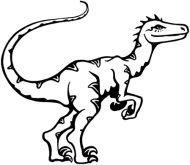 Crafty Stamps - Velociraptor - DN110Q